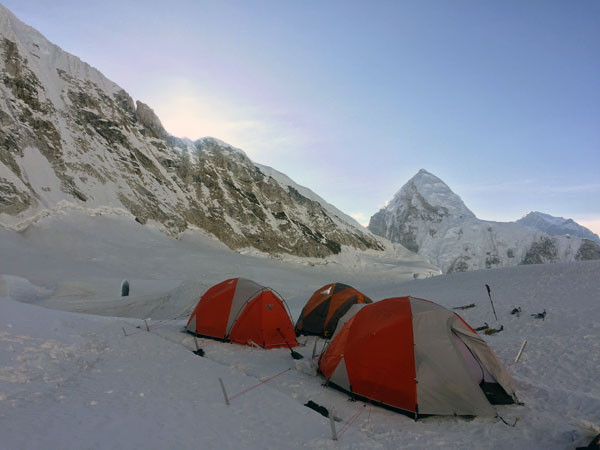 Everest Camp 1 2017 expedition