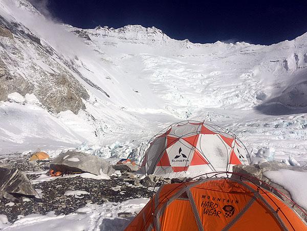 camp 2 mount everest
