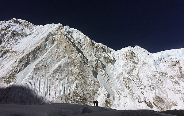 everest 2017 above camp 1