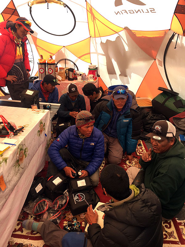 2017 Everest O2 briefing