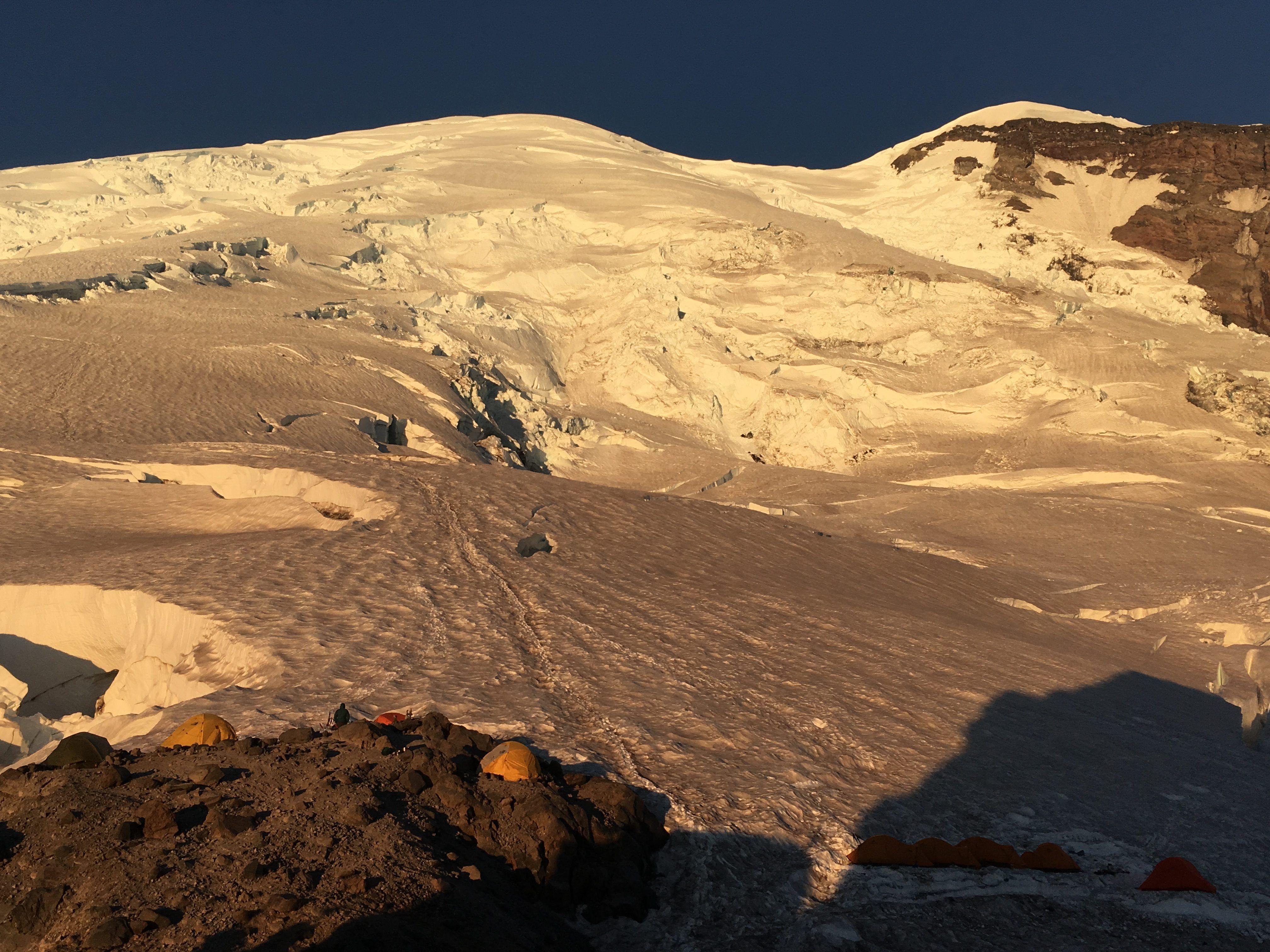 Mount Rainer Camp Sherman