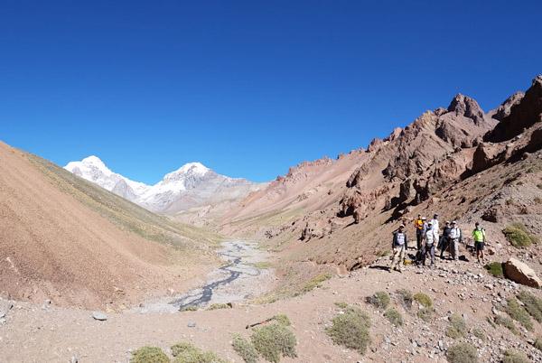 aconcagua cerro ameghino