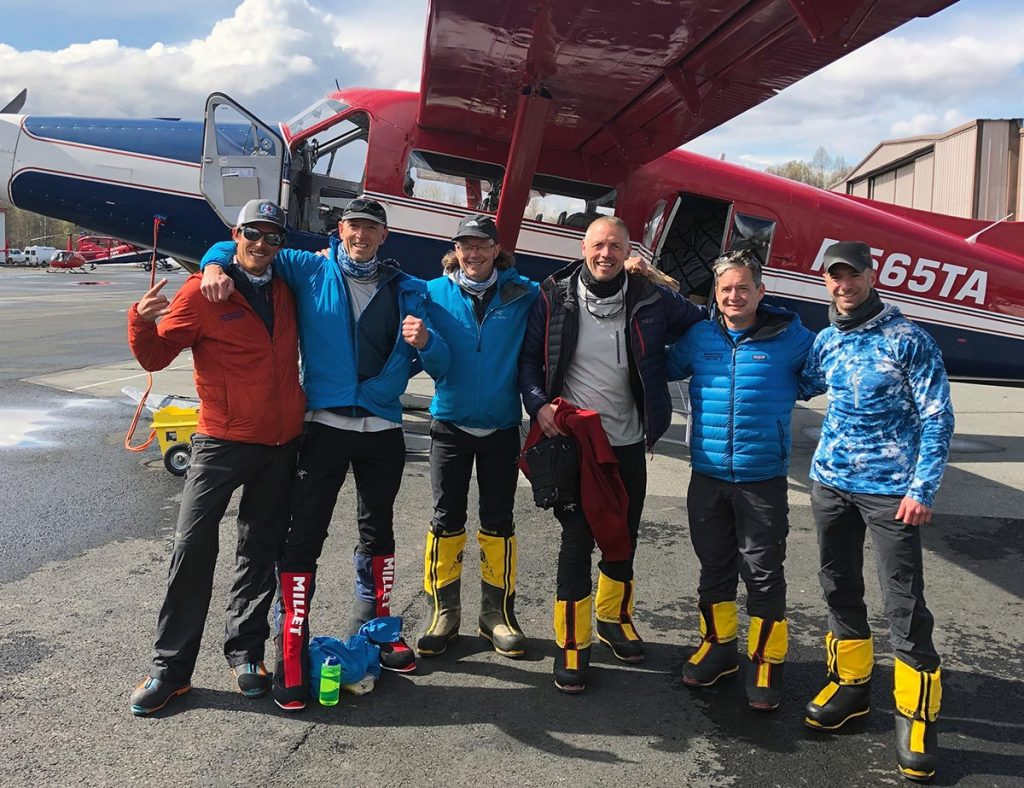 Denali team air taxi