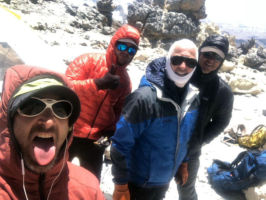 summit team back at high camp