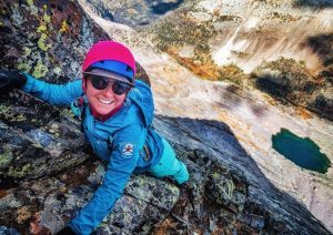 Climbing Vestal Peak via the Wham Ridge in the Weminuche Wilderness.