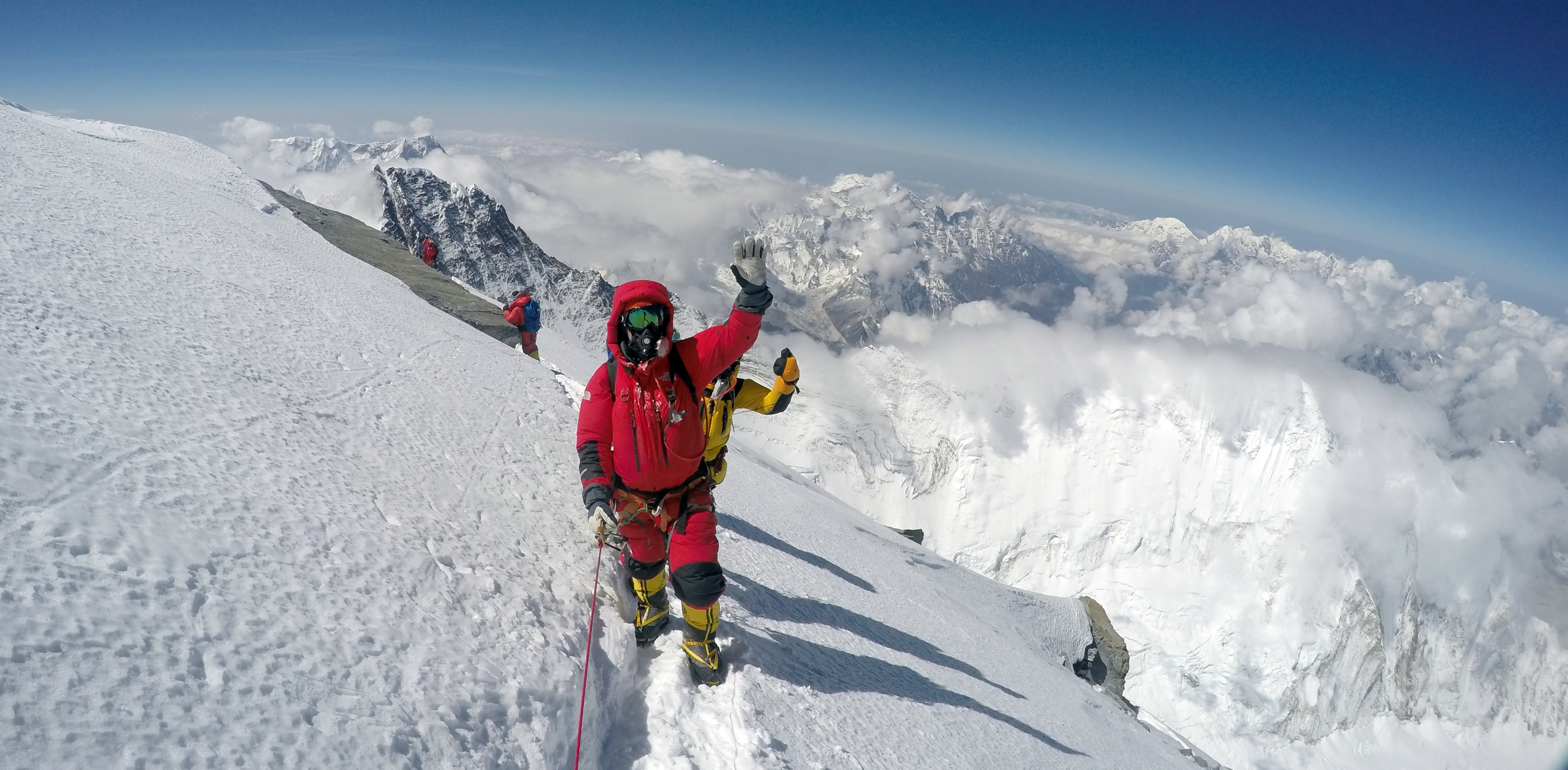 Everest Summit climbers