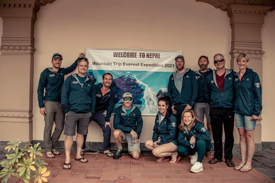 Mountain Trip Mount Everest 2021 Team