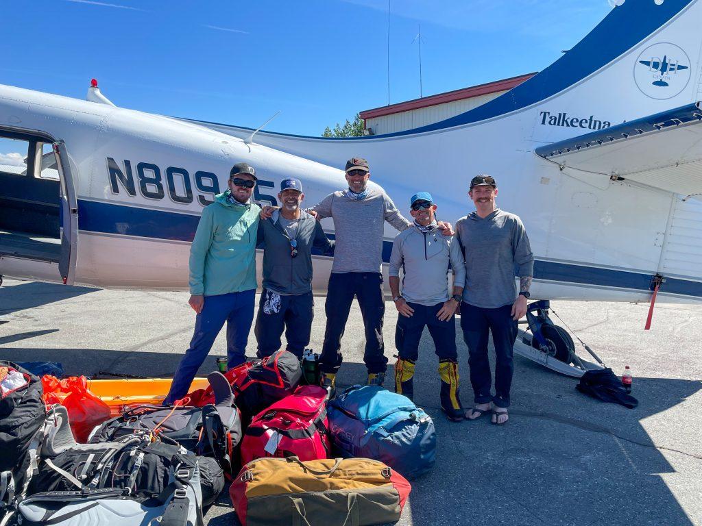 June 13 2021 Denali Team in Talkeetna